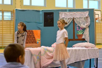 ada preparing for her dance