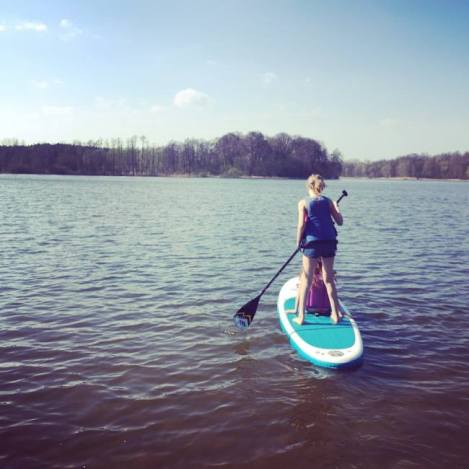 ada on the paddleboard